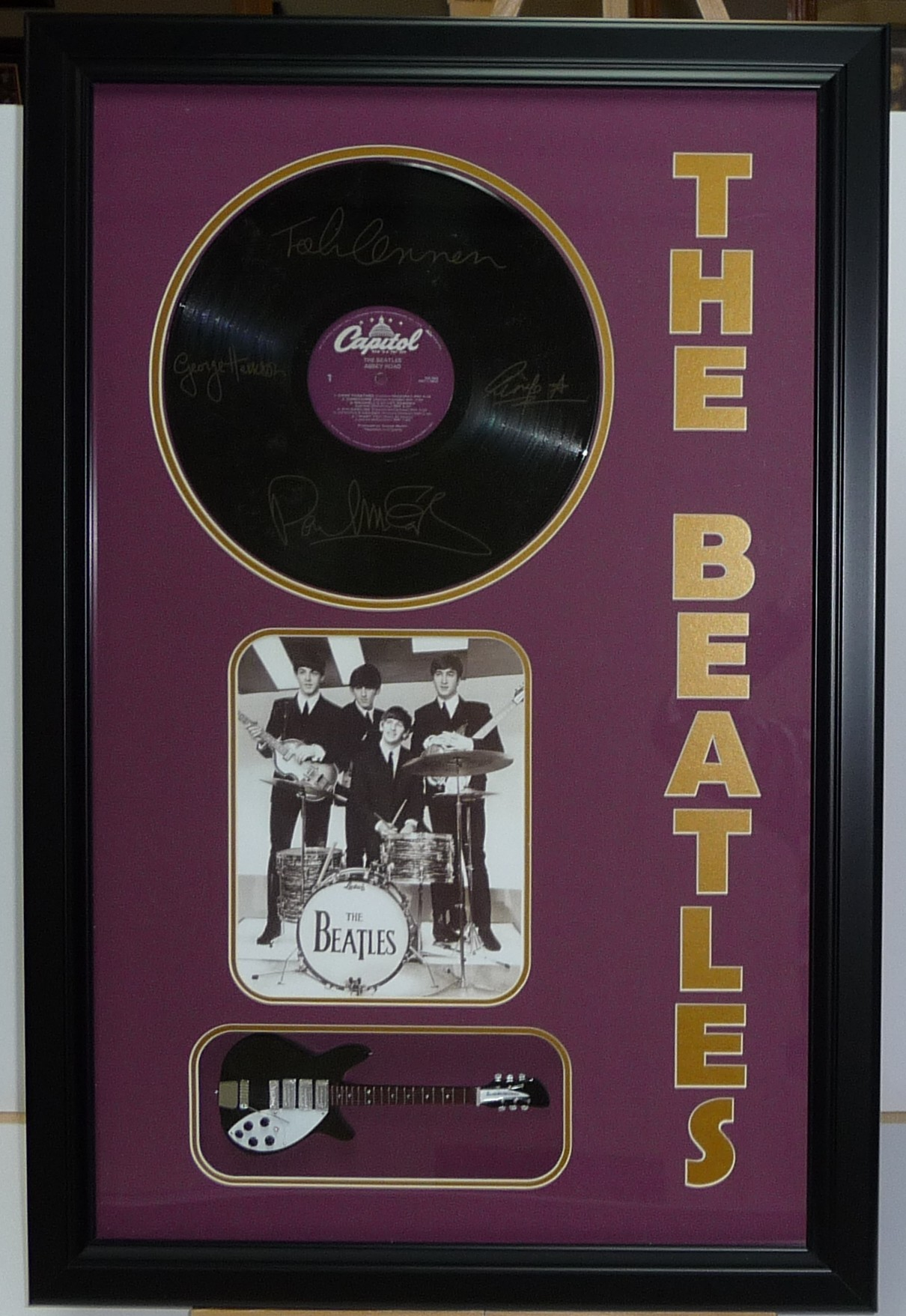 Beatles Album Guitar 1